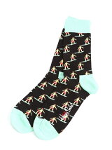 (W)【Happy Sock】SURFER SOCK