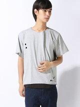 (M)ドロップショルダーアンサンブルTシャツ