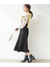 ROPE' PICNIC ストラップマーメイドスカート ロペピクニック スカート スカートその他 ブラック ブラウン ベージュ【送料無料】