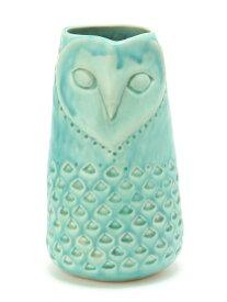 MONIQUE CHARTLAND by GOODY GRAMS OWL OBJECT【花瓶・オブジェ】-BLUE グローバルフォルムコンクリート 生活雑貨 インテリアアクセ ブルー【送料無料】
