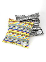 SQUARE CUSHION COVER+PILLOW