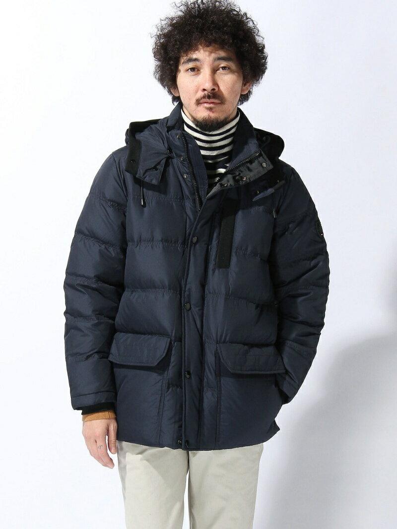 TOMMY HILFIGER (M)フードダウンボマー トミーヒルフィガー【送料無料】