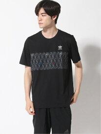 【SALE/70%OFF】adidas Originals モノグラム Tシャツ [Monogram TEE] アディダスオリジナルス アディダス カットソー Tシャツ ブラック ホワイト