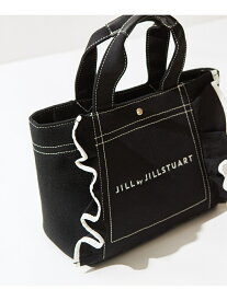 JILL by JILLSTUART フリルトートバッグ(小) ジル バイ ジルスチュアート バッグ バッグその他 ブラック ホワイト ブラウン ピンク【送料無料】