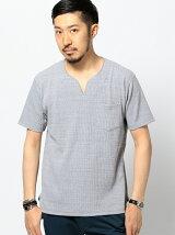 ビーミング by ビームス / ネップサーマルスリットネックTシャツ BEAMS