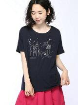 ランドスケープptドルマンTシャツ