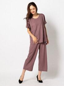 【SALE/43%OFF】MEW'S REFINED CLOTHES カットパンツセットアップ ミューズ リファインド クローズ ビジネス/フォーマル【RBA_S】【RBA_E】【送料無料】