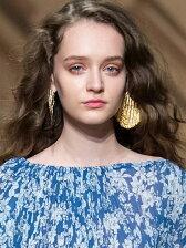 giza choco chippierced earrings