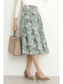 N. Natural Beauty Basic フレアミモレスカート エヌ ナチュラルビューティーベーシック* スカート スカートその他 ネイビー【送料無料】