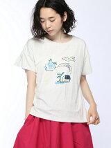 ボンボヤージュプリントTシャツ