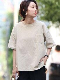 【SALE/25%OFF】coen 【WEB限定】USAコットンポケットビッグTシャツ(ポケT)# コーエン カットソー Tシャツ ベージュ ホワイト ブラック グレー ブラウン ネイビー パープル