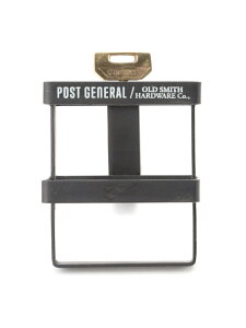 POST GENERAL [OLD SMITH]POST GENERAL/クランプアイアン収納S ニコアンド 生活雑貨 収納用品 ブラック