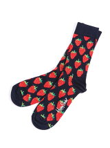 (W)【Happy Sock】STRAWBERRY SOCK