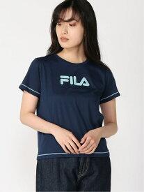 【SALE/30%OFF】FILA FILA/(W)Tシャツ エーストリート カットソー Tシャツ ネイビー オレンジ ホワイト グリーン レッド