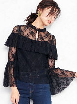Drill Lace Blouse