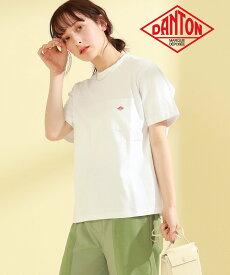Ray BEAMS DANTON / ポケット Tシャツ ビームス ウイメン カットソー Tシャツ グリーン【送料無料】