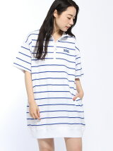 STRIPED PQ HF Z DRES