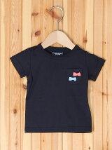 リボンポケット半袖Tシャツ/キッズ/夏