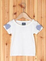 袖リボン半袖Tシャツ/キッズ/夏