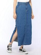 【Dispark】(L)デニムスリットスカート