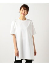 CLASSIC COTTON JERSEY チュニックカットソー