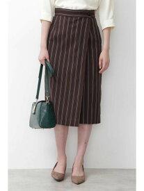 【SALE/70%OFF】NATURAL BEAUTY BASIC [洗える]レジメンタルストライプスカート◆ ナチュラルビューティベーシック スカート スカートその他