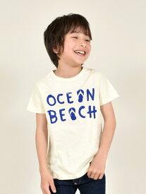 【SALE/10%OFF】Jeans-b 2nd/(K)OCEAN BEACH Tシャツ トライアングル ストア カットソー【RBA_S】【RBA_E】