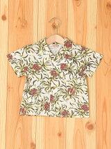 アロハ柄半袖シャツ