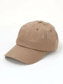 BEAUTY & YOUTH UNITED ARROWS BYリネンキャップ ビューティ&ユース ユナイテッドアローズ 帽子/ヘア小物 キャップ ブラウン ブラック ホワイト ピンク