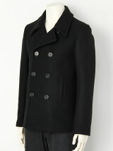 HEAVY MELTON SHORT PEA COAT