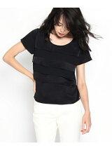 スエード風デザインシャツ