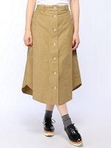 裾ラウンドテールスカート