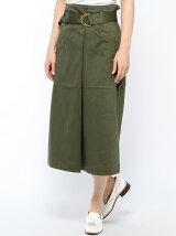 (W)ウエストベルトタイトスカート
