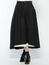 【Dispark】(L)フリルイレヘムロングスカート