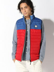 【SALE/60%OFF】nudie jeans FRANKLIN&MARSHALL/(M)リバーシブルダウン/ボア ヌーディージーンズ / フランクリンアンドマーシャル コート/ジャケット アウターベスト ブルー グレー【送料無料】