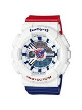 BABY-G/(L)BA-110TR-7AJF/White Tricolor