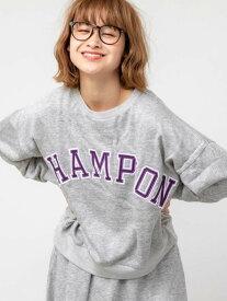 【SALE/10%OFF】coen Champion(チャンピオン)クルーネックスウェット コーエン カットソー Tシャツ グレー ネイビー【送料無料】