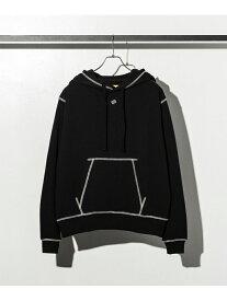【SALE/50%OFF】DRESSCAMP DRESSCAMP/Kanaデザインスウェットセットアップ シフォン カットソー パーカー ブラック グレー