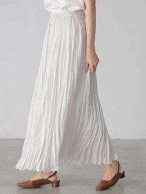【SALE/67%OFF】AMERICAN HOLIC 丈違いワッシャープリーツスカート アメリカン ホリック スカート フレアスカート ホワイト グレー ブルー パープル レッド