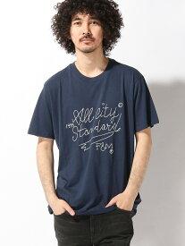 【SALE/70%OFF】FRANKLIN&MARSHALL FRANKLIN&MARSHALL/(M)SS-Tシャツ ヌーディージーンズ / フランクリンアンドマーシャル カットソー Tシャツ ネイビー グレー
