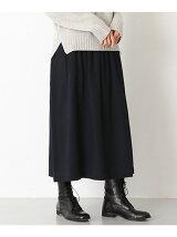 起毛ギャザースカート