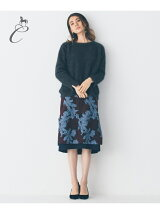 RATTI FLOWER JACQUARD スカート