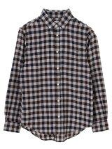 Men's 長袖ブロックチェックBDシャツ