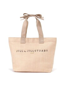 JILL by JILLSTUART リボンハンドルバスケット(大) ジル バイ ジルスチュアート バッグ【送料無料】