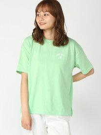 【SALE/10%OFF】WEGO (L)別注KANGOLSPORTSプリントロゴT ウィゴー カットソー Tシャツ グリーン パープル ホワイト