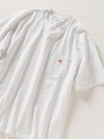 SHIPS any DANTON: ポケット Tシャツ シップス カットソー Tシャツ ホワイト グレー ブラック ブラウン グリーン【送料無料】