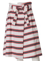 《ef-de》フレンチボーダースカート