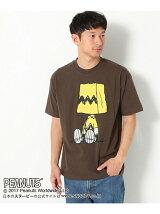 【吸水速乾】PEANUTSプリントTシャツ Men