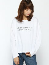 【Dispark】(L)ロゴBIGロングTシャツ