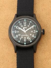 TIMEX TIMEX/(U)SS キャンパー ライフスタイルステーション ファッショングッズ 腕時計 ブラック【送料無料】